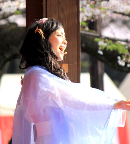 Suzue's Concert at the Yasukuni Shrine